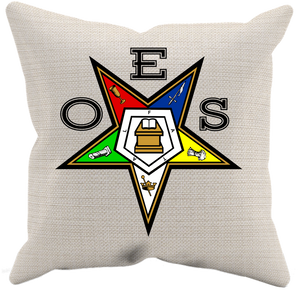 OES FATAL Throw Pillow Case - Canvas - JaZazzy