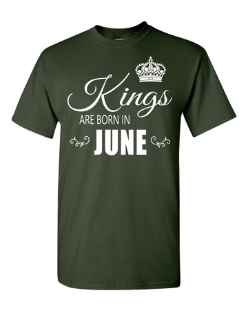 Kings are born in June_T-Shirt_840 - JaZazzy