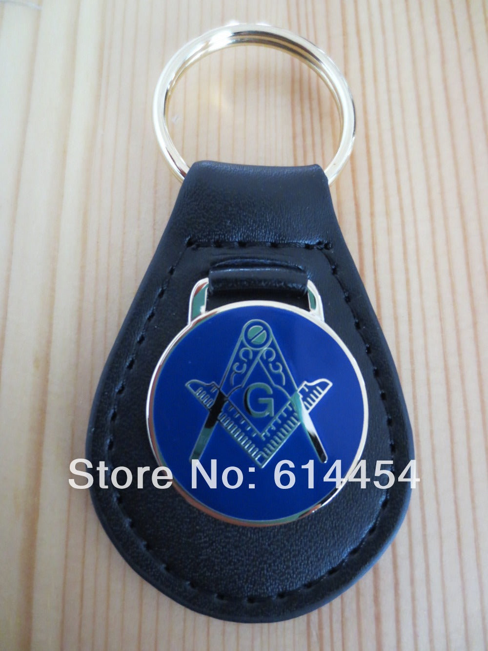 Masonic Key Chain K01 Mason Freemason - JaZazzy