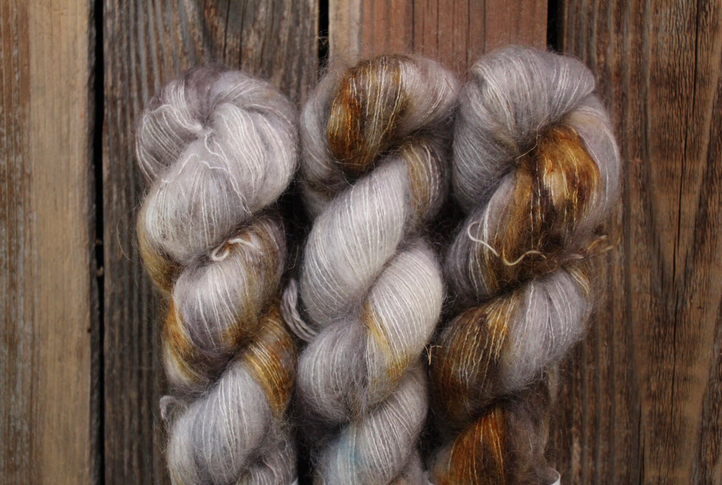 Timber Wolf - Kid Mohair
