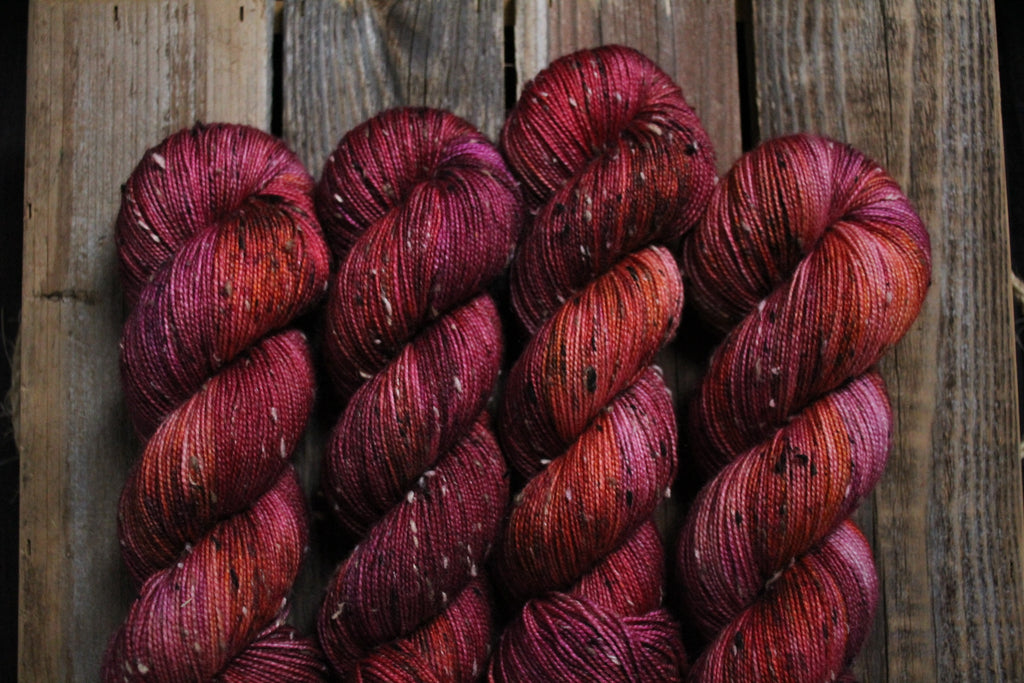 Heirloom Tomato - Tweed Fingering