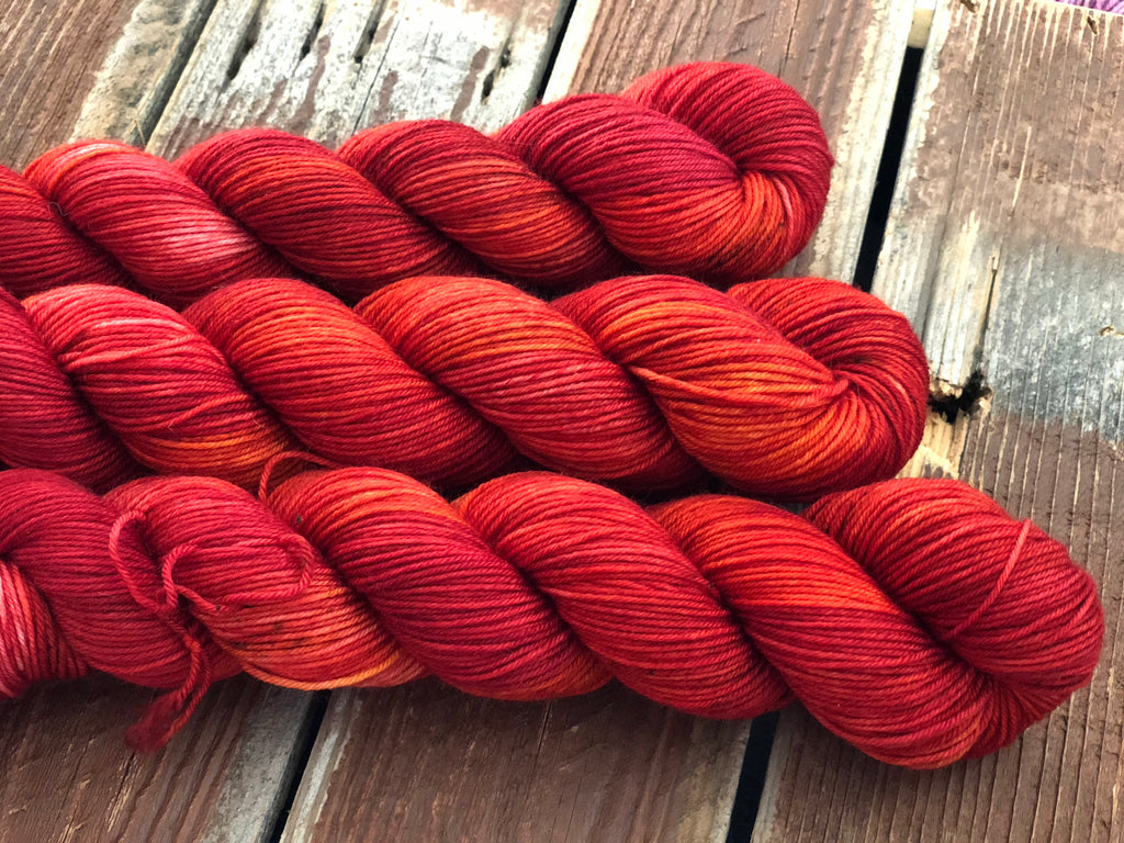 Fire Agate -  50g Simple Sock