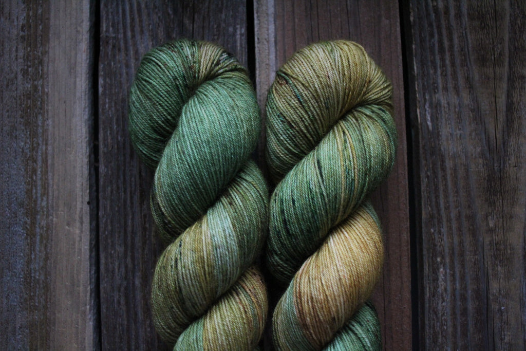 Lichen That Toffee - Simple Sock
