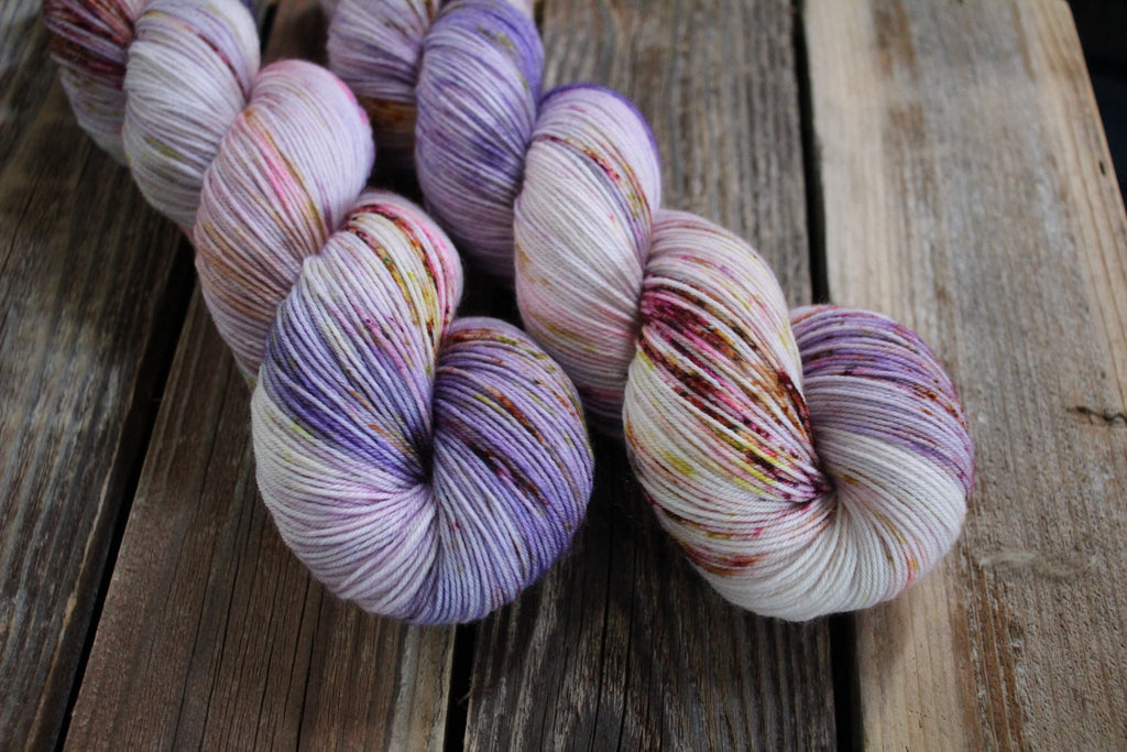 Blooming Artichoke - Simple Sock