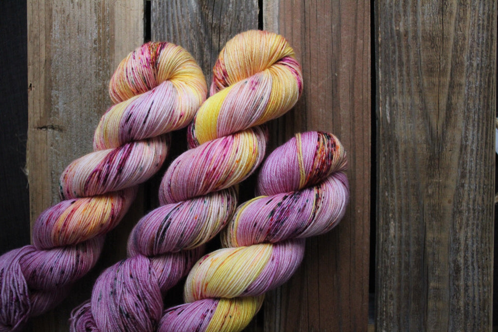 Squash Blossom - Simple Sock