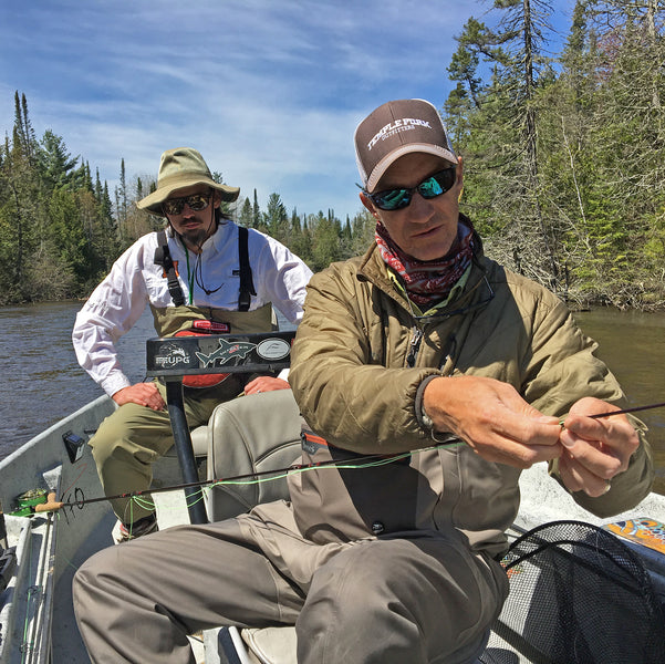 Learning to Fly Fish on the Holy Waters