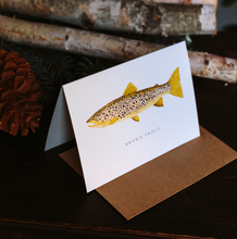 Trout and Salmon Greeting Cards