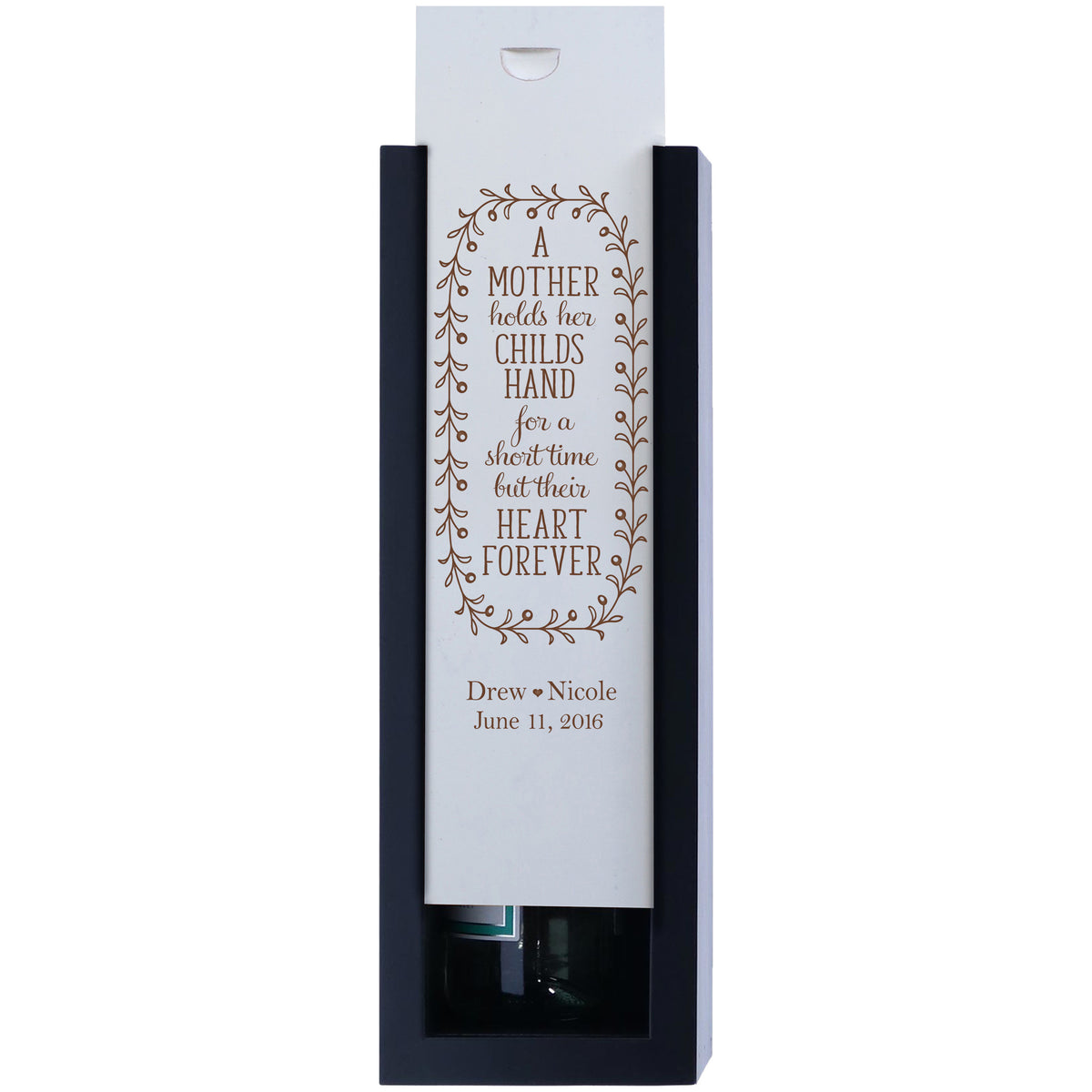 Personalized Mother Wedding Gift Ideas   Custom Engraved Wine Boxes
