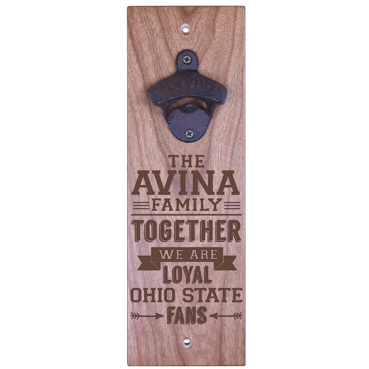 American Winekrafts Wall Mounted Bottle Opener - Family