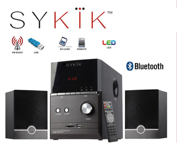 Sykik Sound SPME51 , powerful Bluetooth sound system, with 5