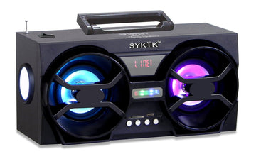 Bluetooth Boombox with SD/MMC/USB, FM Radio SP2091BT - SYKIK