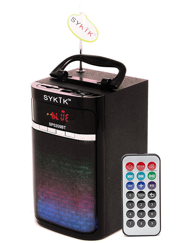 Bluetooth Portable Speaker with Light Show Power SP5209BT - SYKIK