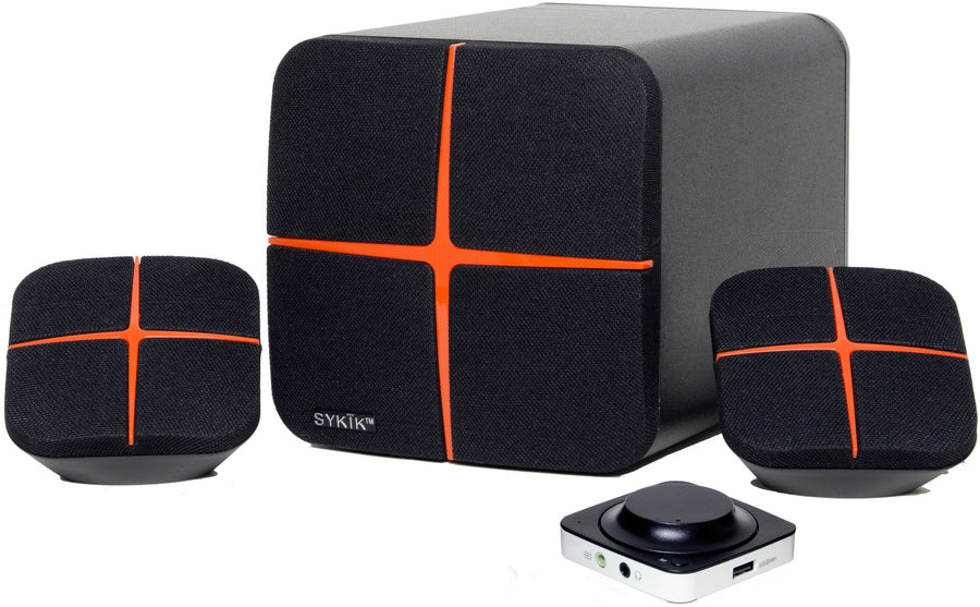 Sound Powerful Bluetooth Multimedia 2.1 Speaker SP0281BT - SYKIK
