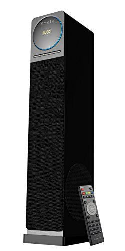 Sykik Tower TSME26 BLK, High power 60W RMS Tower Speaker with Blue tooth - SYKIK