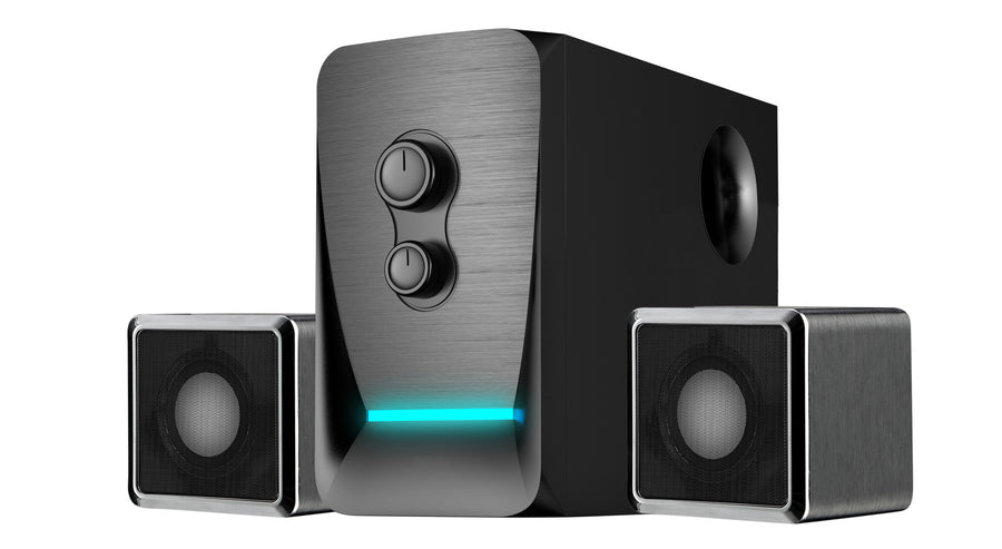 Wireless Bluetooth 2.1 Multi Media Speaker System SPEA0218BT - SYKIK
