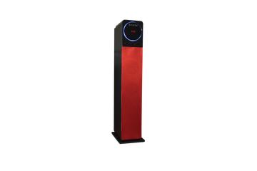 Sykik Tower TSME26 RD, High power 60W RMS Tower Speaker with Bluetooth - SYKIK