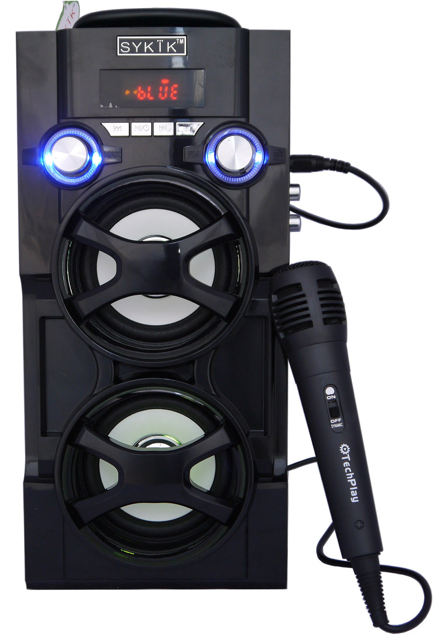 Bluetooth Karaoke PA System Tower Speaker Boom Box SP966BT - SYKIK