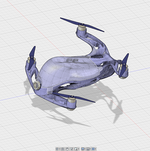Advanced CAD: Aerial Drone