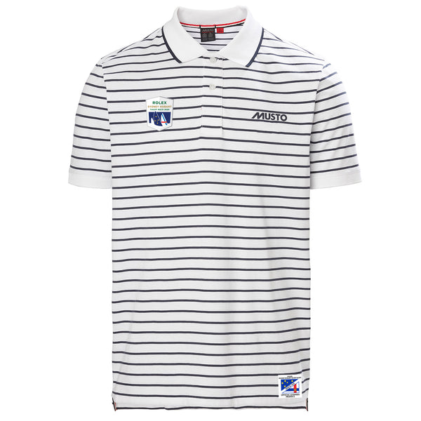 RSHYR MENS RHINE STRIPE POLO