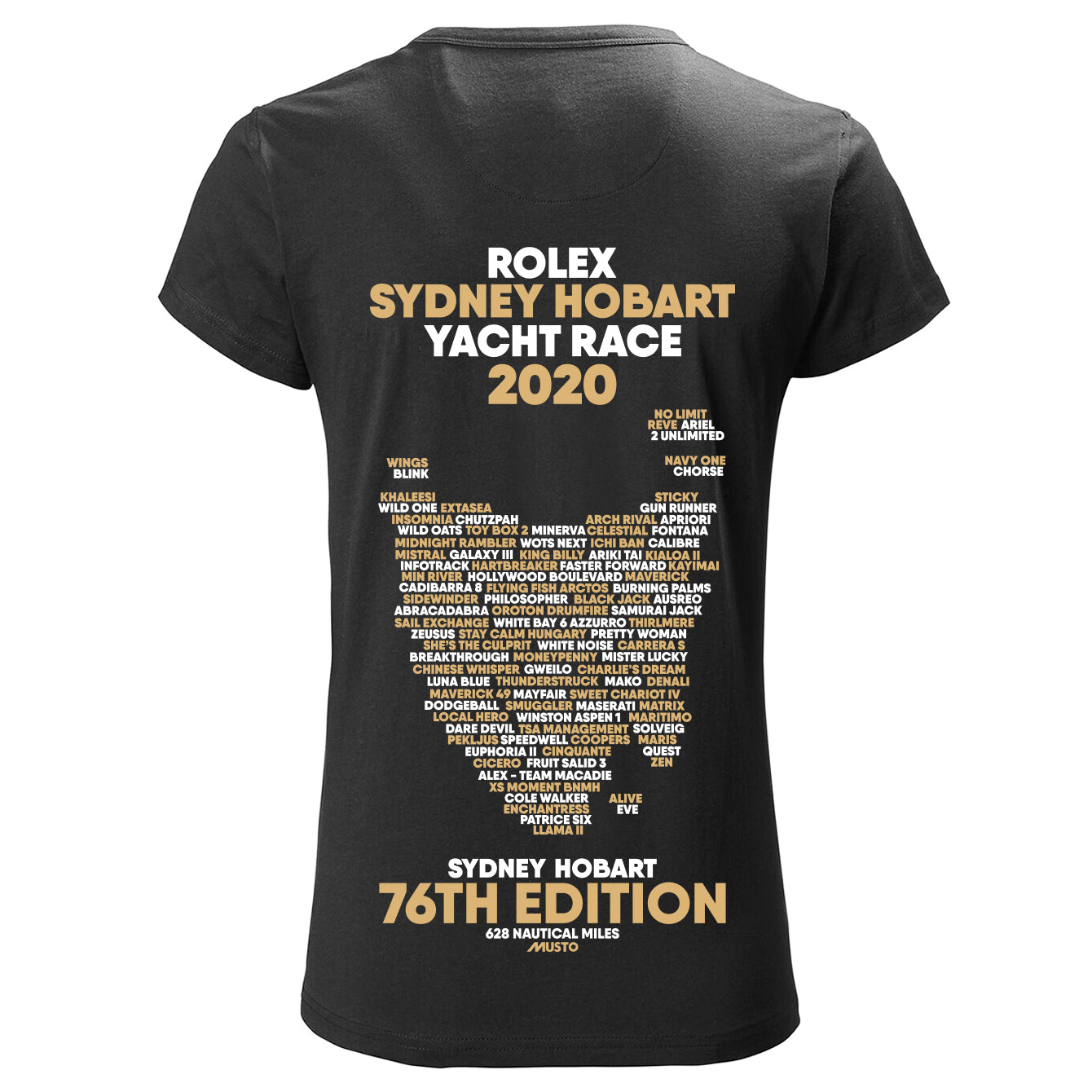 RSHYR WOMENS BOAT NAME TSHIRT