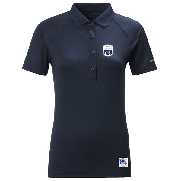 RSHYR WOMENS EVOLUTION SUNBLOCK POLO