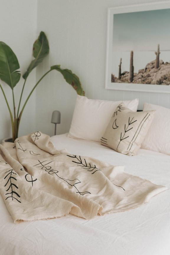 Wilde The Label | Orion Linen Throw
