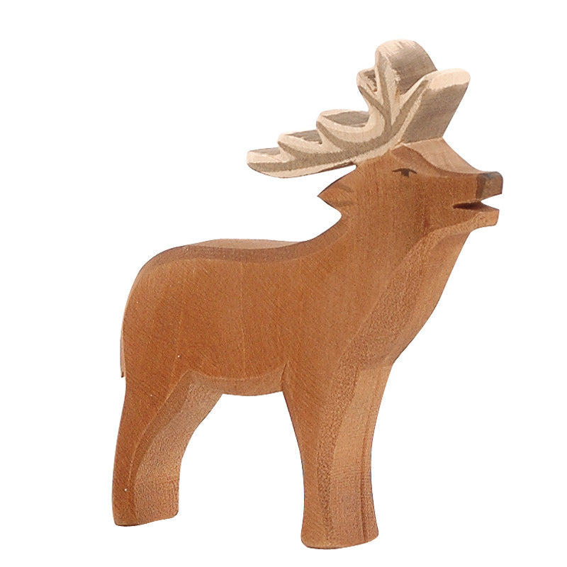 Deer Stag Wooden Toy