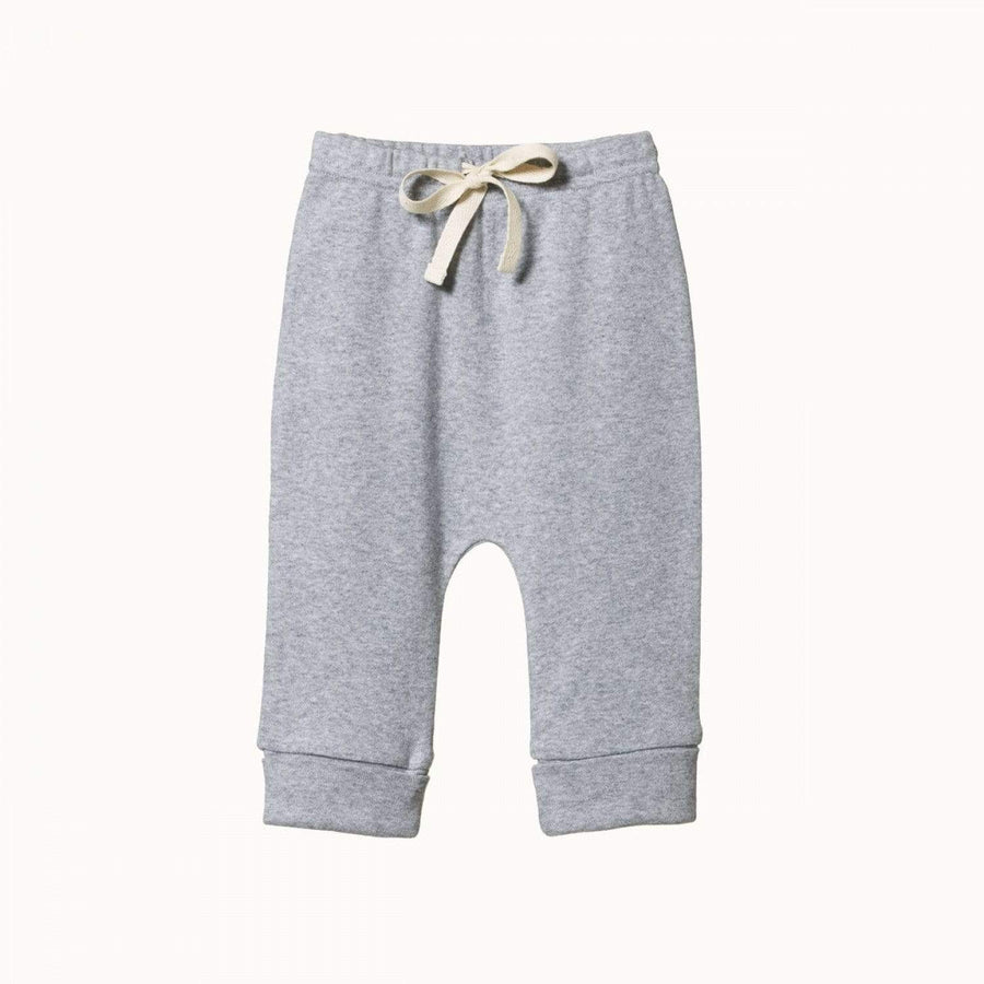Drawstring Pants Grey Marl