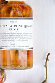 Country Kitchen Rose Petal and Rose Quartz Body Oil