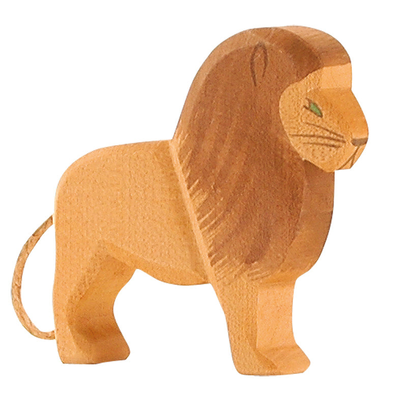 Male Lion Wooden Toy