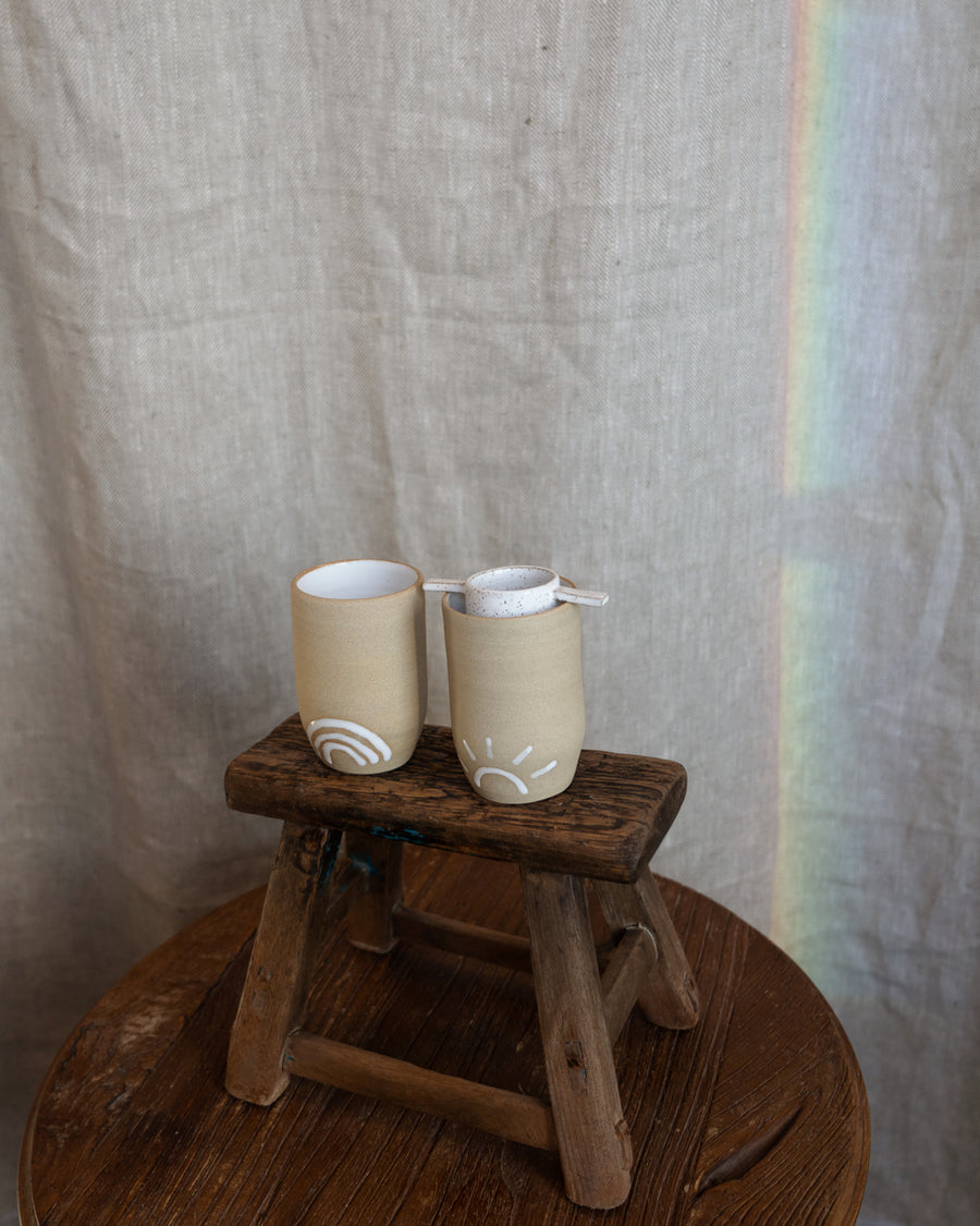Sun Rainbow Moon Tumbler Set