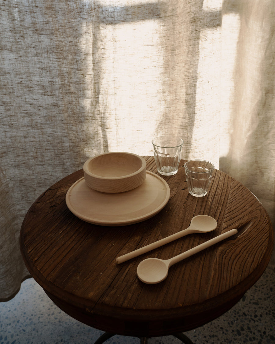 Natural Beech Wood Spoons