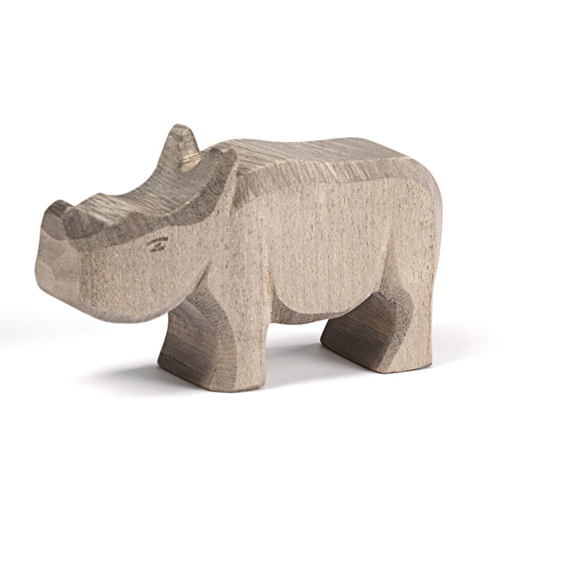 Rhino Small Wooden Toy