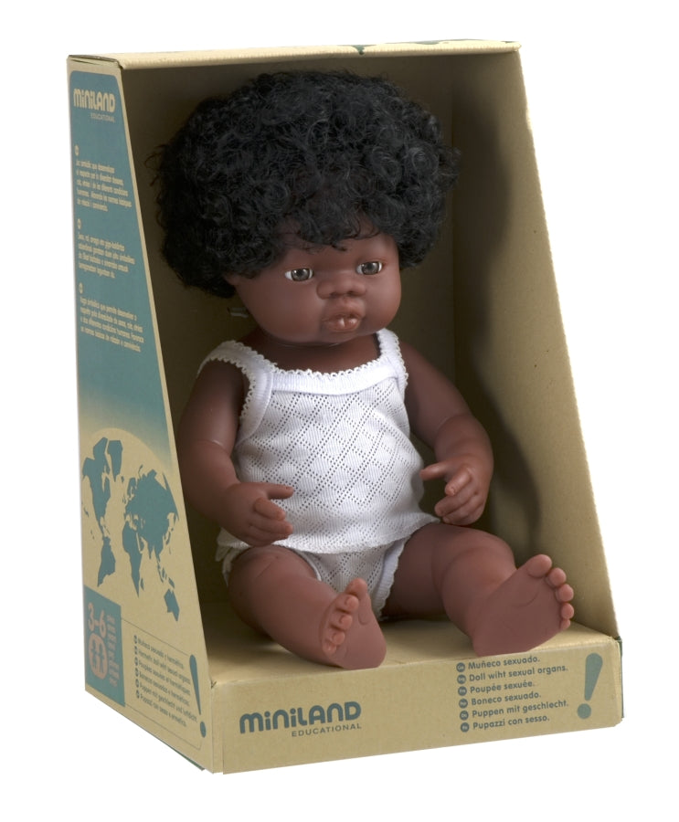Large African Girl Doll
