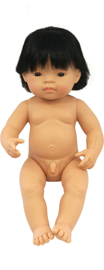 Large Asiatic Boy Doll