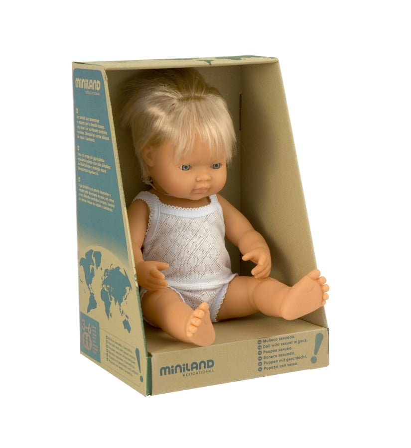 Large European Boy Doll
