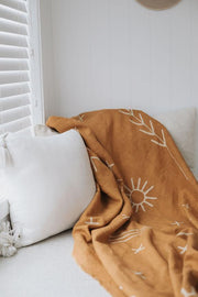 Wilde The Label | Zephyr Ginger Throw