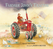 Father Johns Tractor by Sally Sutton