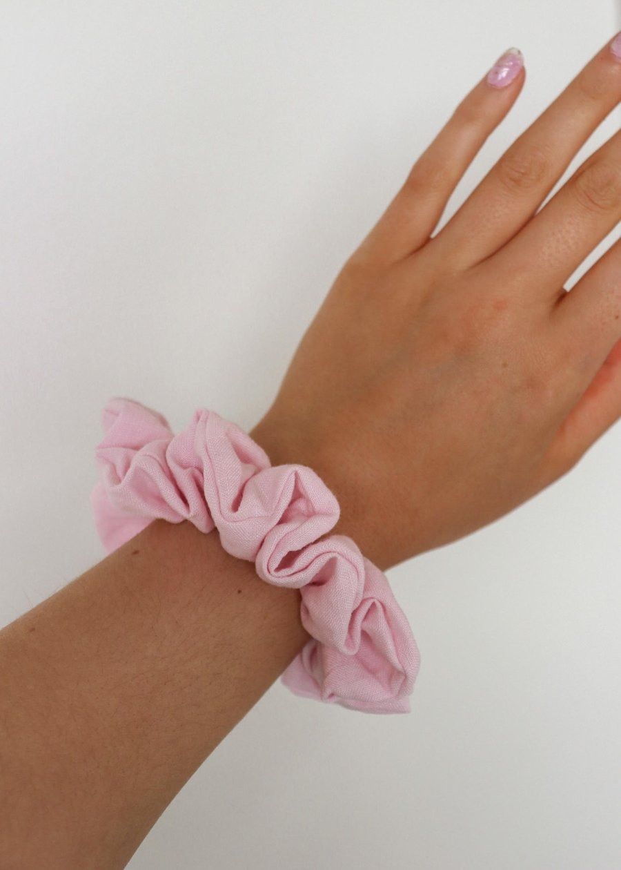 Sustainable Scrunch Rose Hair Scrunchie