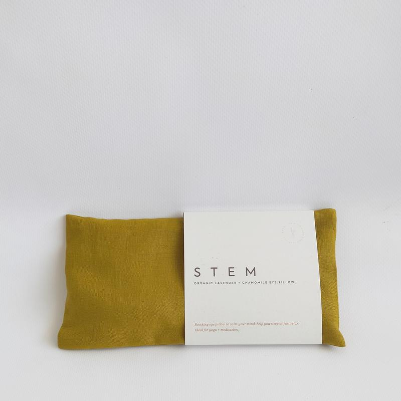 STEM Lavender and Chamomile Eye Pillow~ Chartreuse