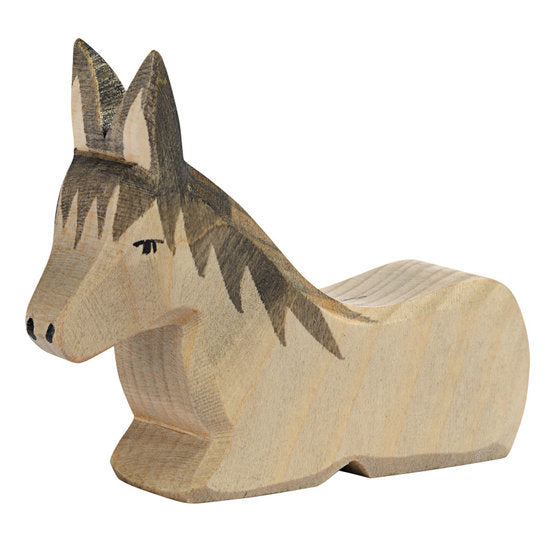 Donkey Sitting Wooden Toy