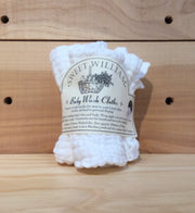 Sweet William Muslin Baby Wash Cloths