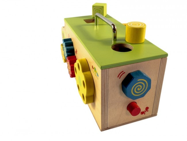 Wooden Baby Activity Box Toy