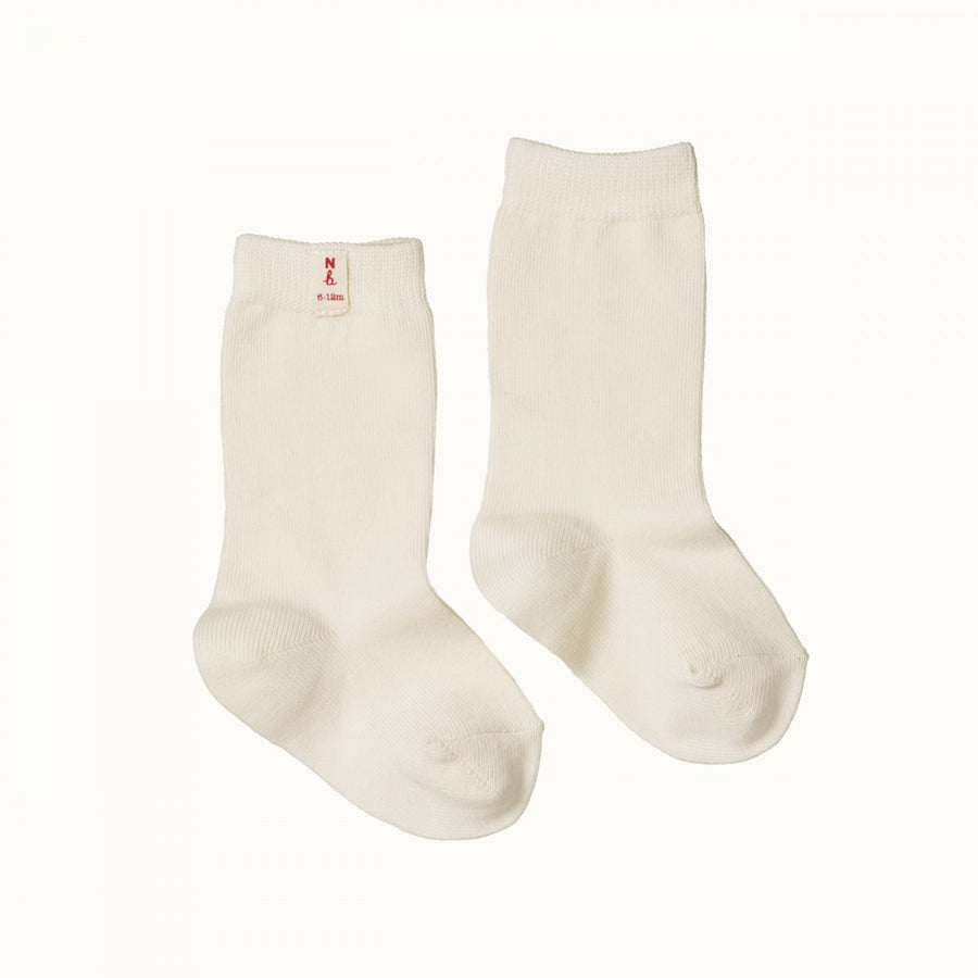 Organic Cotton Socks Natural