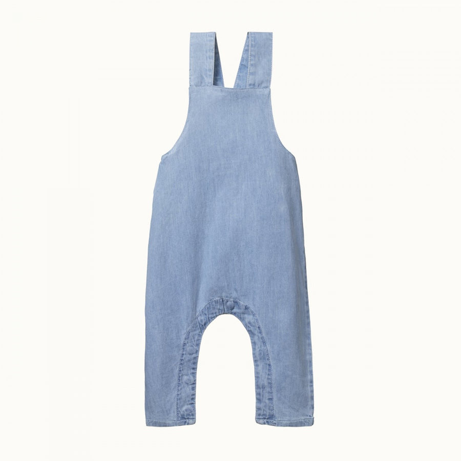 Finley Chambray Overalls