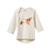Nature Baby | Simple Tee Top Dog Print