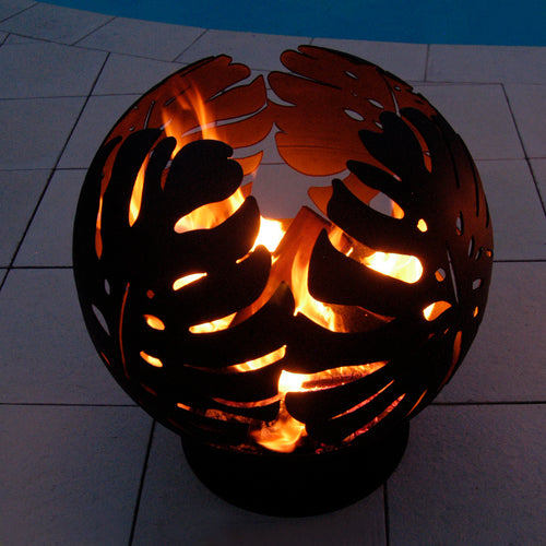 The Monstera Fire Pit Globe *New Design Coming Soon*