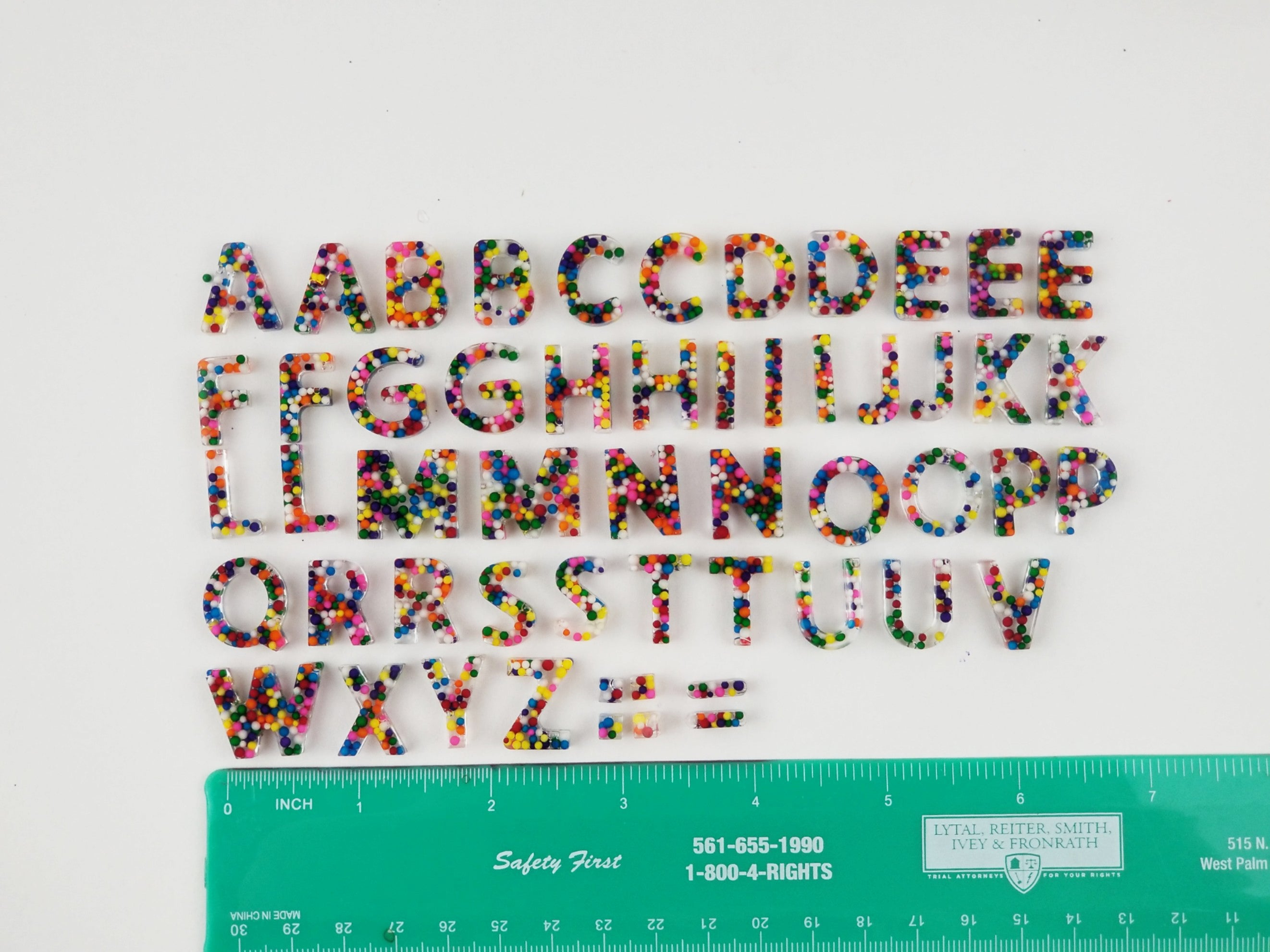 A Sprinkle Alphabet Tough Tray Kit!