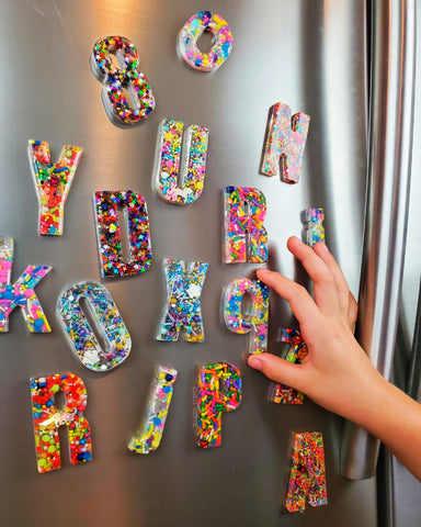 A Set of Magnetic letters