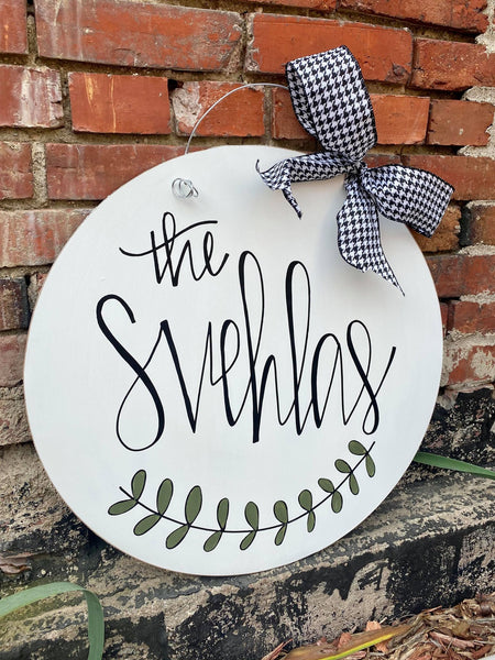 *Personalized Sign- SPECIAL ORDER